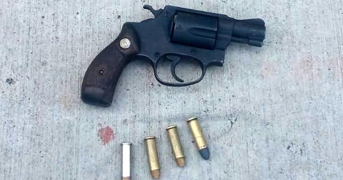 Capturan a pandillero armado que atemorizaba a habitantes de La Paz