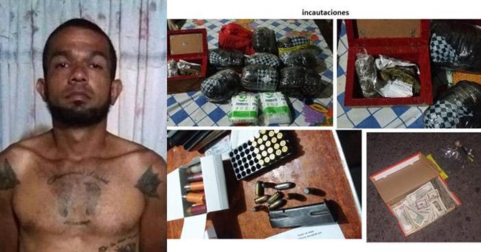 Capturan a pandillero acusado de matar a sargento de la Fuerza Armada en Santa Tecla