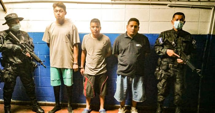 Capturan a 3 pandilleros que habrían disparado contra ambulancia de Médicos Sin Fronteras
