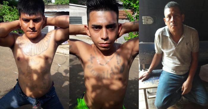 Tres pandilleros capturados durante operativo en Nahuizalco, Sonsonate