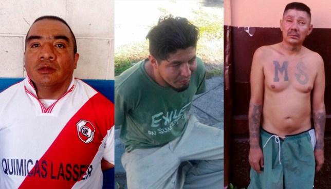 Policía de San Salvador captura a varios sujetos por los delitos de receptación y robo
