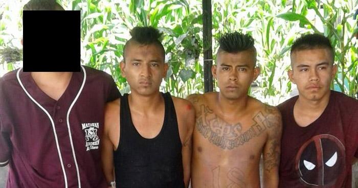Arrestan a pandilleros que operaban en colonia La Campanera de Soyapango