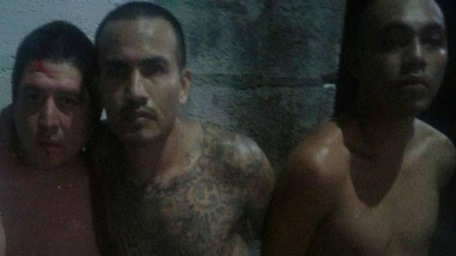 Dos pandilleros lesionados y otros 5 detenidos tras enfrentamiento con policías en Atiquizaya