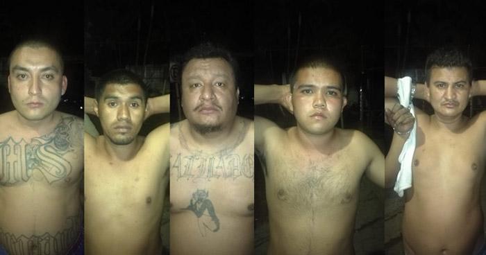 Capturan a pandilleros que atemorizaban a habitantes de la colonia Layco de San Salvador