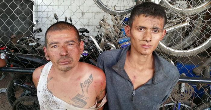 Capturan por homicidio y privación de libertad a pandilleros en Santa Ana y Ahuachapán