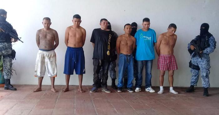 Capturan a pandilleros que intentaron privar de libertad a un Policía en rancho de Playa en Sonsonate