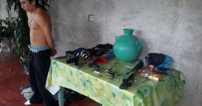 Capturan a dos pandilleros tras atacar a la PNC en Santo Domingo, San Vicente