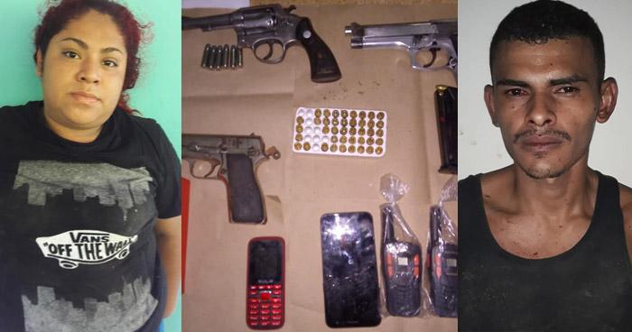 Capturan a pandilleros y les incautan armas y otros ilícitos en La Unión