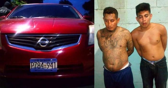 Arrestan a pandilleros que intentaron asesinar a un joven en Barrio Lourdes de San Salvador