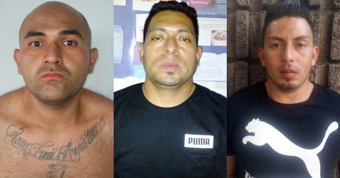 Un ladrón y dos pandilleros fueron capturados en San Salvador