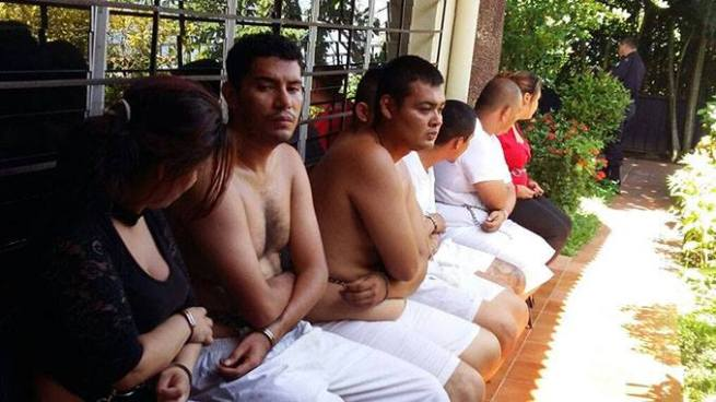 Decretan instrucción con detención contra pandilleros capturados en casa de playa