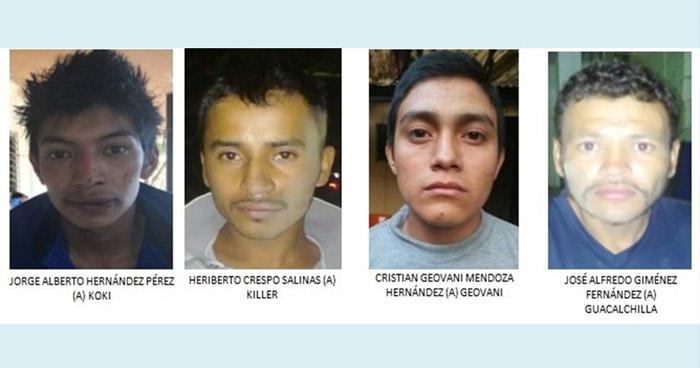 Condenan a 40 años de prisión a pandilleros que asesinaron a un Policía y a su hijo