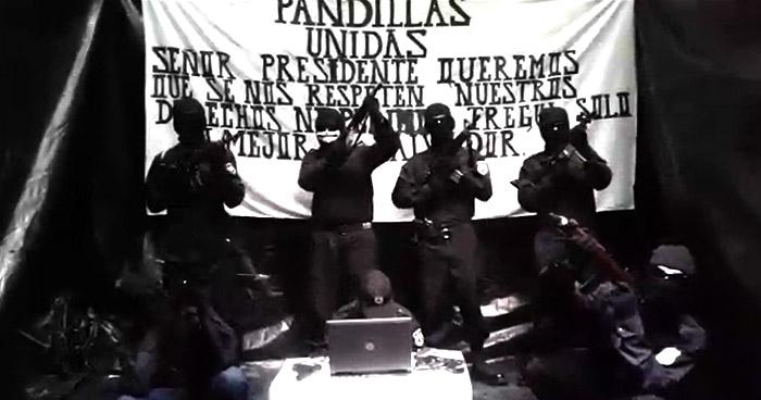 VÍDEO: «Pandillas Unidas» envían mensaje al presidente Bukele