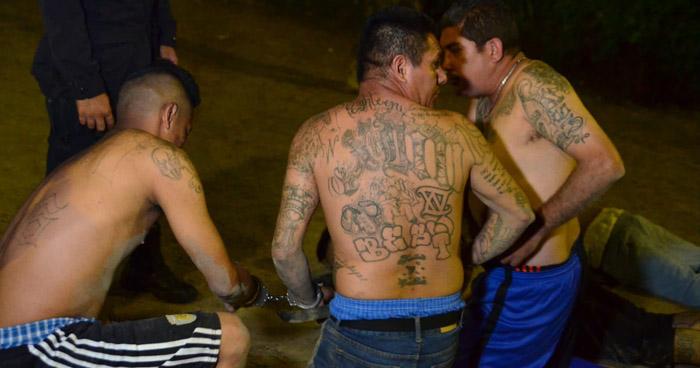 Capturan a cinco peligrosos pandilleros que operaban en Soyapango