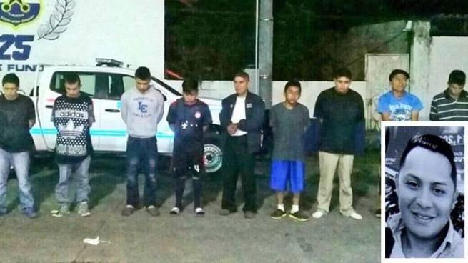 Capturan a 6 pandilleros ligados a la privación de libertad de estudiante universitario
