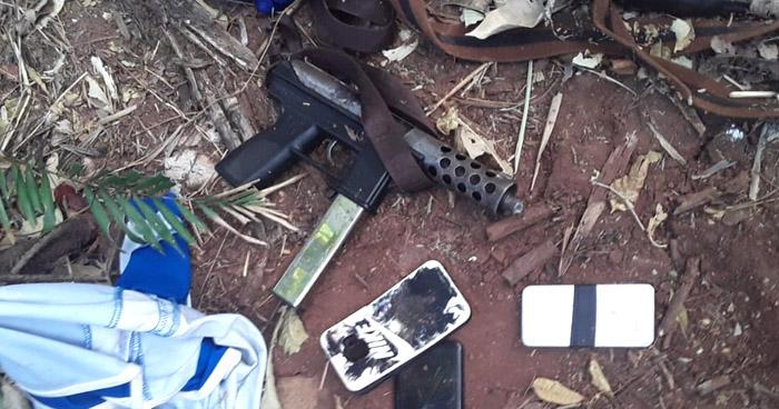 Capturan a miembros de la MS y les incautan dos AK-47 en La Unión