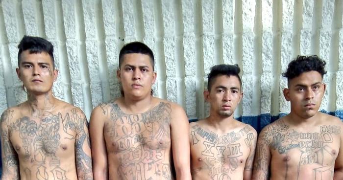 Capturan a cuatro pandilleros en colonia La Campanera de Soyapango