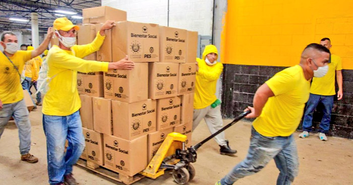 Envían $1 millón en Paquetes Alimentarios hacia Honduras y Guatemala para afectados por Eta