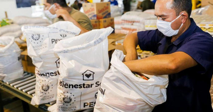 Paquete Alimenticio sera entregado Casa por Casa