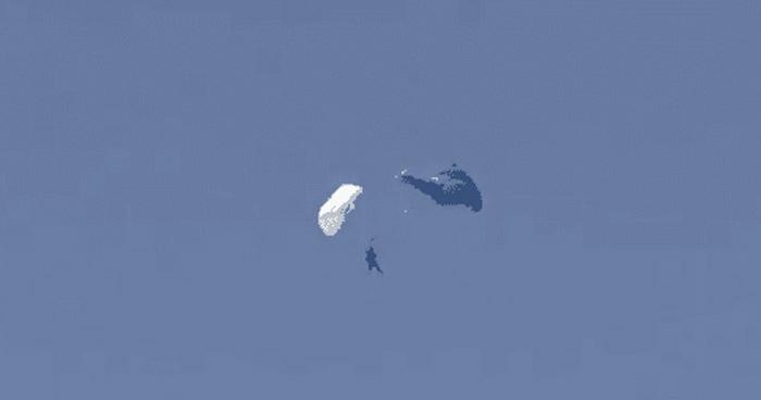 Paracaidista sobrevivió tras sufrir accidente a 5 mil pies de altura en Ilopango