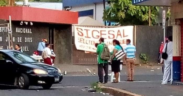 Suspenden labores en el Hospital San Juan de Dios en San Miguel