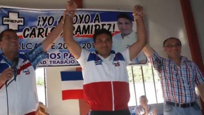 Habitantes de Pasaquina exigen libertad para alcalde Cárlos Ramírez