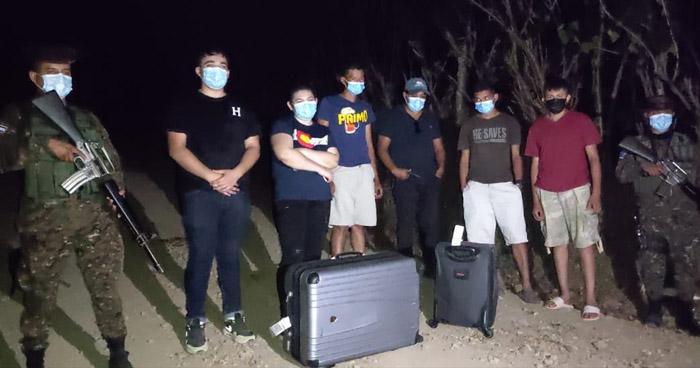 Seis extranjeros pretendían ingresar al país sin someterse a controles migratorios