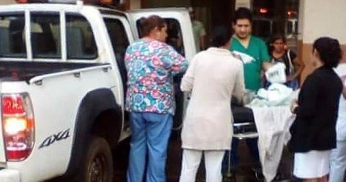 Atienden parto en patrulla del CAM de San Sebastián Salitrillo