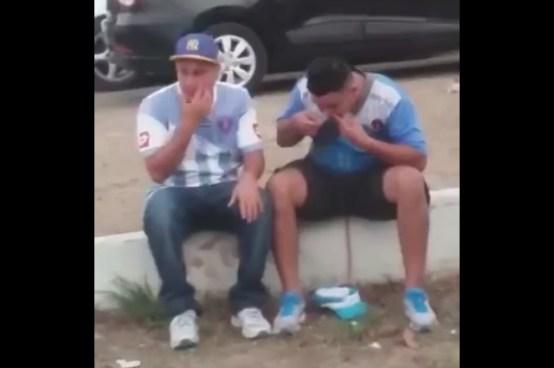 Difunden vídeo de aficionados del Alianza que inhalaban cocaína en la final