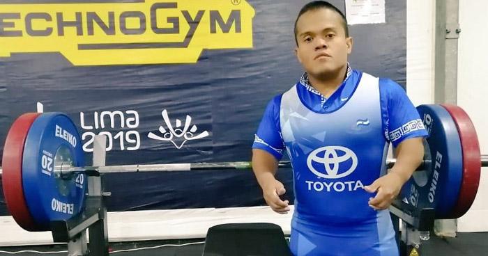 Salvadoreño gana el ORO en los Juegos Parapanamericanos Lima 2019