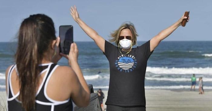 """Reabren parques y playas en Florida """"con ciertas restricciones"""" pese a emergencia por COVID-19"""