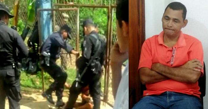Capturan a agente que torturó a adulto con discapacidad en Morazán