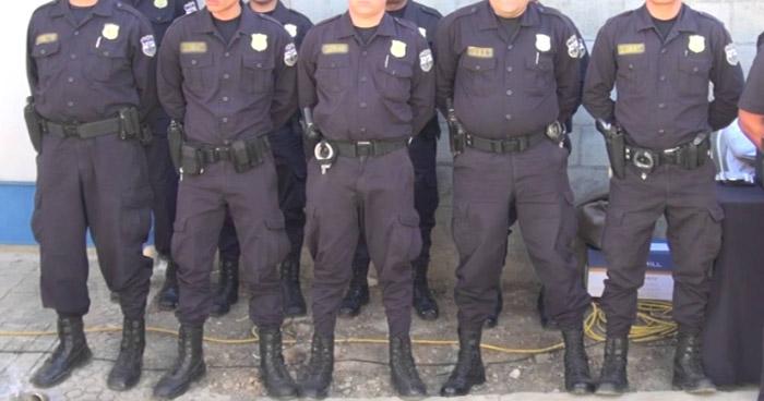 Capturan a 7 agentes de la PNC y a un oficial en estado de ebriedad en Coatepeque