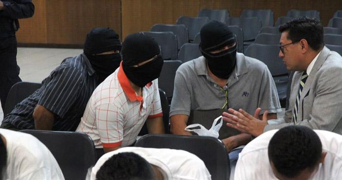 Decretan detención provisional contra agentes PNC y soldados acusados de diferentes delitos