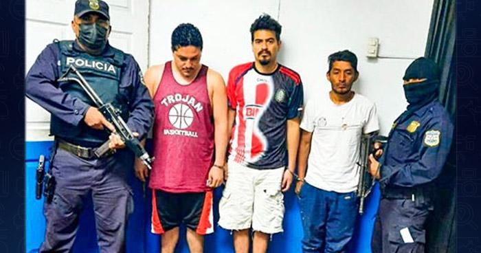 Capturados con posesión de narcóticos en Soyapango
