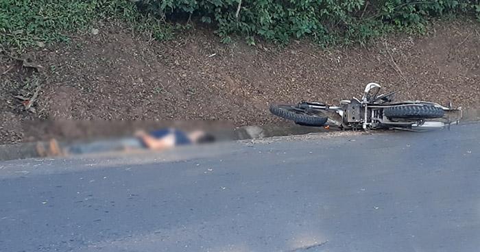 Agente de la PNC fallecido tras accidente en carretera de Sonsonate