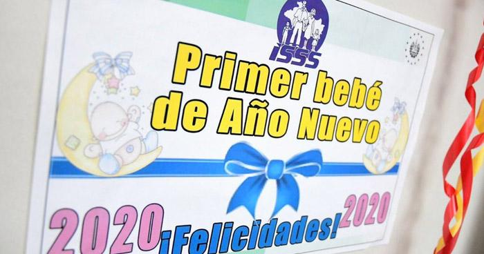 Jacob Liam es el primer niño del año 2020 en El Salvador