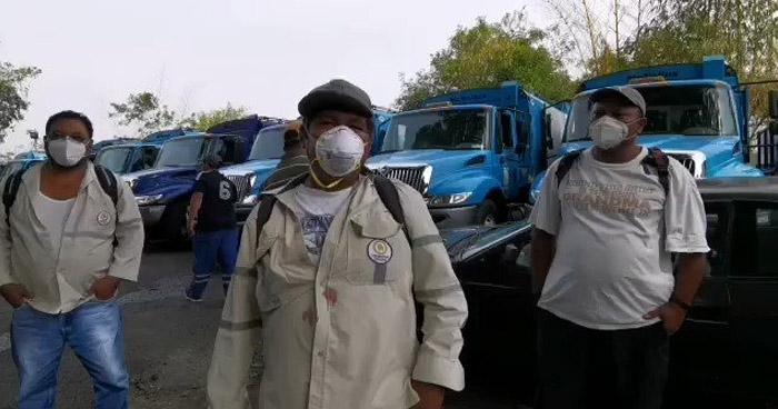 Sindicalistas bloquearán con camiones de basura la colonia donde reside Ernesto Muyshondt