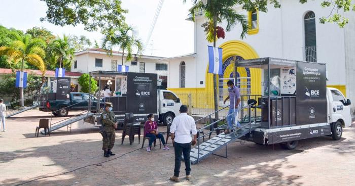 Realizan 300 pruebas para detectar COVID-19 en Santo Tomás