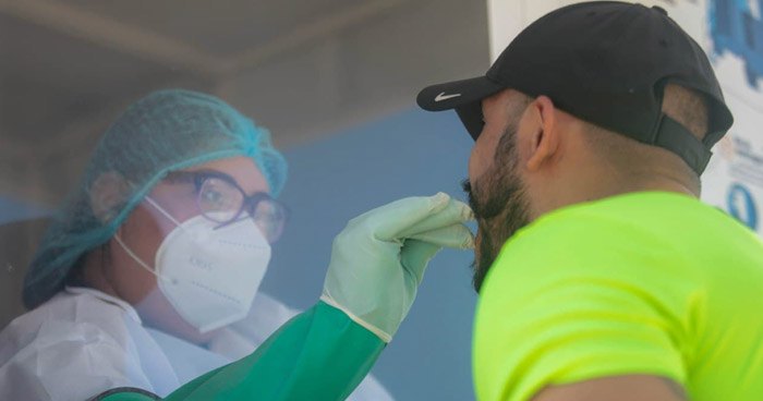 Instalan cabinas para detectar COVID-19 en San Salvador