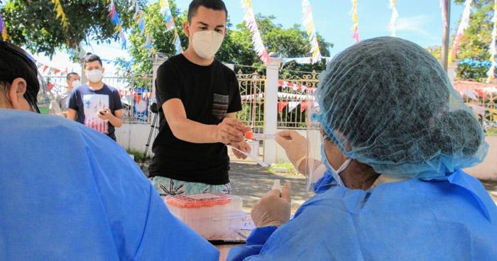 Instalan cabinas para diagnóstico de COVID-19 en Rosario de Mora