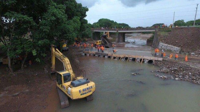 Desde mañana estará habilitado el paso provisional para restablecer el acceso a Chalatenango