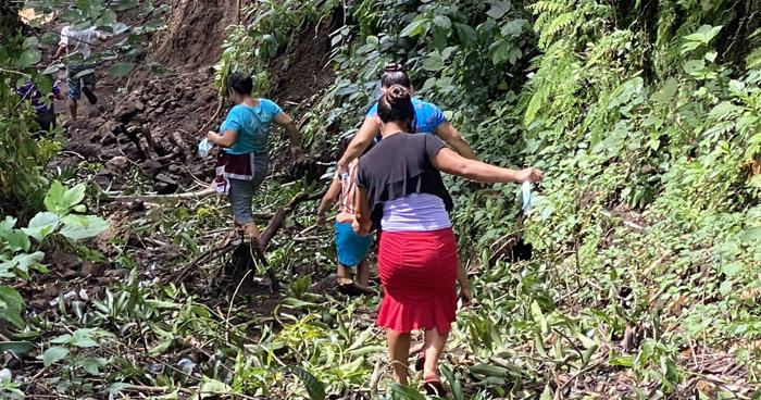 Localizan cadáver de niña arrastrada por crecida de una quebrada en San Jorge, San Miguel