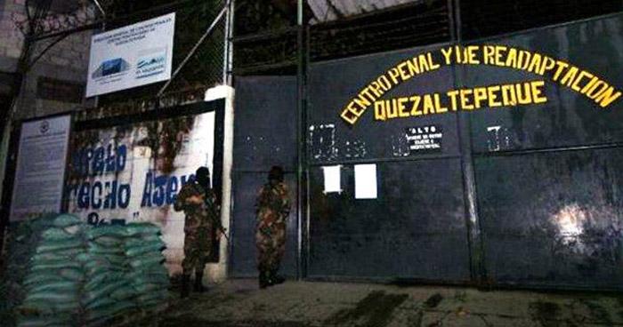 Cuatro reos muertos por riña al interior del Cetro Penal de Quezaltepeque