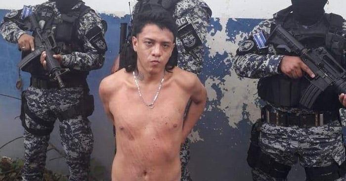 Recapturan a pandillero que se fugó de las bartolinas de Apopa en junio pasado