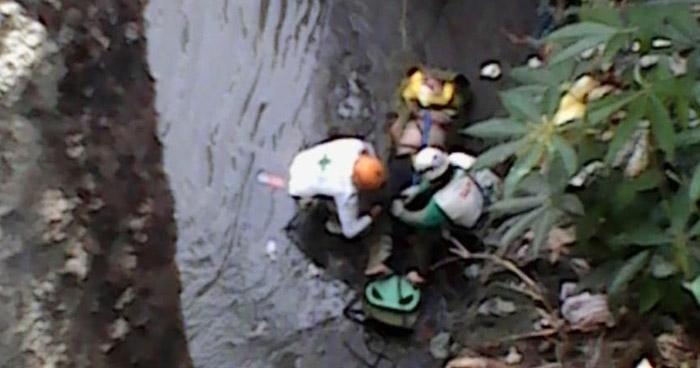 Hombre intentó suicidarse luego de haberse lanzado a río en San Salvador