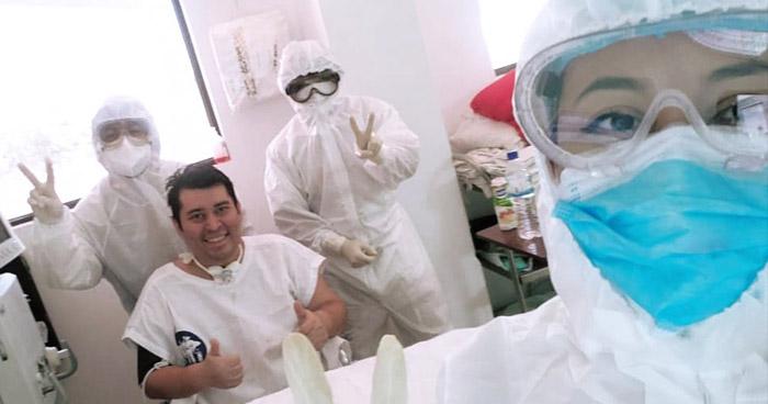 Se recupera de COVID-19 tras permanecer 40 dias con ventilación mecánica
