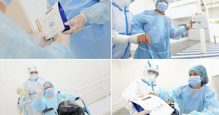 Más de 30 pacientes se recuperan de COVID-19