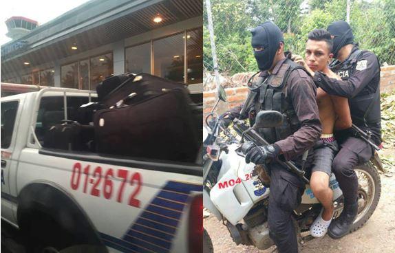 Captan a patrulla siendo utilizada para hacer viajes al aeropuerto