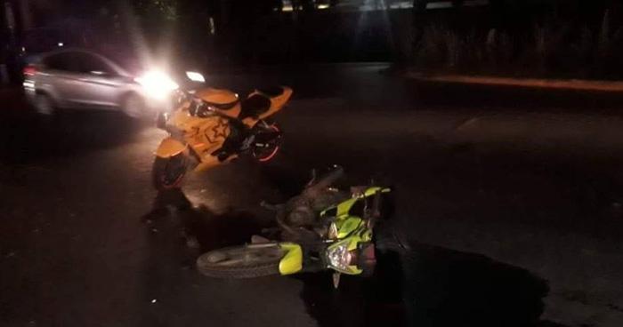 Dos agentes de la PNC murieron tras ser embestidos por un vehículo en Quezaltepeque